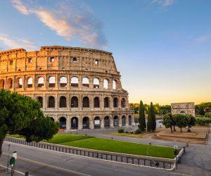 Rome Colosseum or Roma Coliseum, Rome, Italy